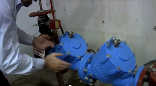 Bobby Bellini explains how a Backflow Preventer stops contaminants from flowing out of a building's water system and into the public drinking water supply.